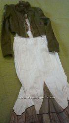 Шикарный итальянский костюм-тройка в деревенском стиле PINASCIMENTO