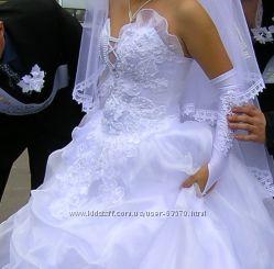 Самое нежное, без излишеств платье невесты