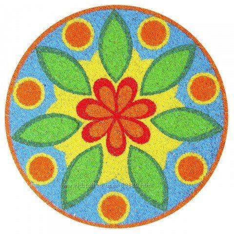 Рисунки узор в круге
