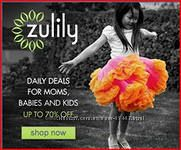 Zulily - закрытая  распродажа США, выкуп мгновенный