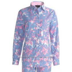 Новый верх от женской фланелевой пижамы, разм. М, Америка