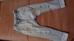 крутецкие штаны укорочённые  puledro бойфренды