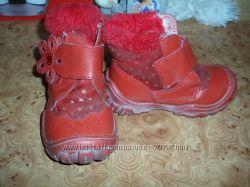 Сапожки зимние, ботиночки демисезонные