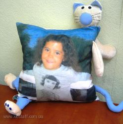 Подушки  с фото-изображением