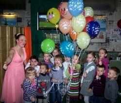 Детский день рождение Аниматор Мыльные пузыри Харьков