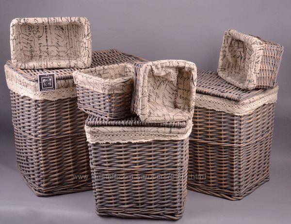 Бамбуковая корзина для белья своими руками