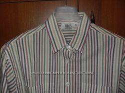 Классная рубашка в полоску р. 50-52, Англия