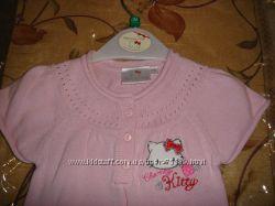 Вязаное новое платье Hello Kitty на 6-12 мес, распродажа.