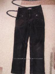 Вельветовые утепленные брюки YUKE