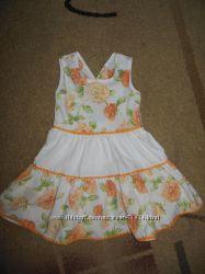 Красивое летнее  платье на р. 110-116