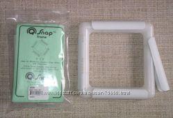 Q-SNAP Рамки-пяльца для вышивания и водорастворимые маркеры для вышивки