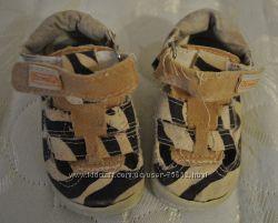 Сандалики Zetpol Первая обувь для малыша стелька 11см