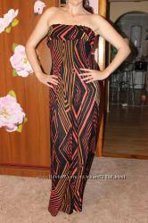 Очень красивое макси платье для высокой девушки.