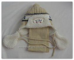 Комплект шапочка и шарфик PAOLA Польша