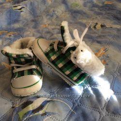 Первая обувь на малыша, деми