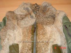 Ecko Unlmt. куртка с мехом и кожей с пересылкой