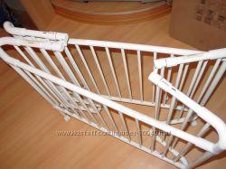 складная кроватка на колесиках COSCO USA в комплекте