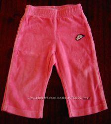 Велюровые штаники NIKE для девочки рост 80-86 см