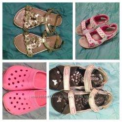 Летняя обувь моей дочурки 29-30 размер