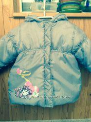 Демисезонная тепленькая курточка