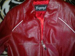 кожаная курточка на девочку