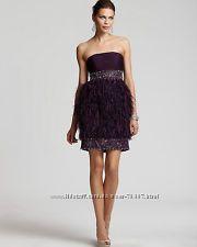 Платье Sue Wong. Оригинал. США. Со страусиными перьями. Маленький размер.