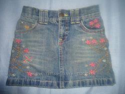 продам детскую джинсовую юбку GAP