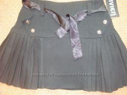Новая школьная черная юбка 140р