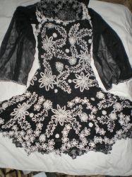 Очень красивое нарядное платье на выпускной