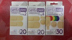 Лейкопластырь Sanita Plast 70шт. 50грн. Пластырь.