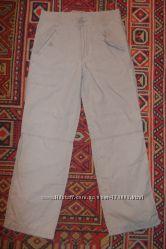 Штаны CHEROKEE на трикотажной подкладке, и штаны хаки, рост 152
