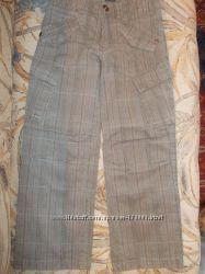 Брючки мехх, джинсы, рост 134-140-146