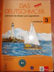 Das Deutschmobil 3,  учебник, диски, английский, немецкий, видео