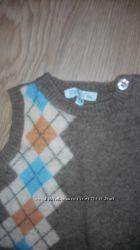 Теплая жилетка для малыша