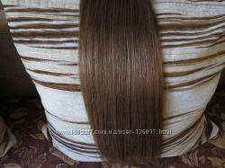 Натуральные волосы для наращивания. 55 см. 100 грамм