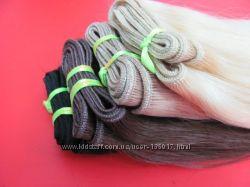 Натуральные волосы для наращивания 45см 50грамм. В наличии