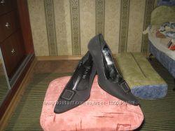 Туфли замш на ногу 24, 5см