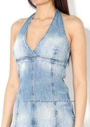 Джинсовое платье сарафан, размер S-M, в наличии.