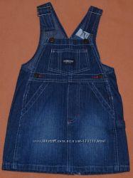 Сарафанчик джинсовый на 1 год