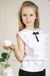 Очень красивые Школьные блузы короткий рукав
