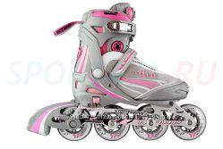 Роликовые коньки СК Ultra Deluxe Pink. 29-40 р. Бесплатная доставка