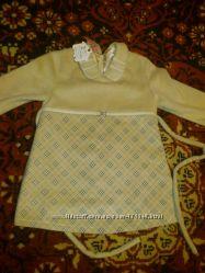 Новое тёплое  платьице BURBERRY