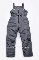 Зимний полукомбинезон для девочки и мальчика размер 86-128 Модный карапуз