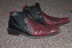 Мужские туфли, ботинки 43 размер кожа