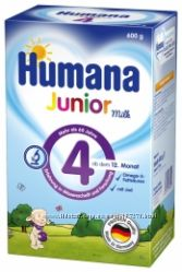Хумана Humana все смеси и каши у нас , доставка, сертификаты