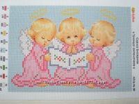 Вышить ангелочка - примета к скорой беременности