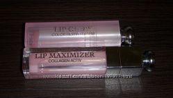 Dior Lip Maximizer и Addict Lip Glow duty-frее