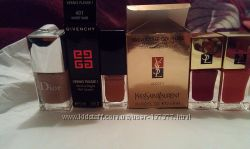 Лаки и база YSL, Givenchy, Dior, Avon, Sally Hansen