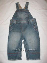 Полукомбез джинсовый 86см 12-18м