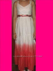 Шикарное платье- сарафан в пол  от  MARKS&SPENSER на 14 - 15лет.